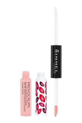 RIMMEL LONDON Ruj - Provocalips Kiss Proof Lip Colour 110 Dare To Pink 3607344546644