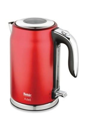 Fakir Adell Kırmızı Elektrikli 2200 Watt 1,7 Litre Çelik Su Isıtıcısı Kettle