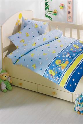 Altınbaşak Bebek Uyku Seti Vak Vak Mavi 0031526