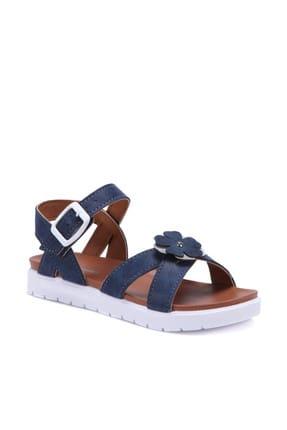 Polaris 71.509112.F Lacivert Kız Çocuk Sandalet 100253819