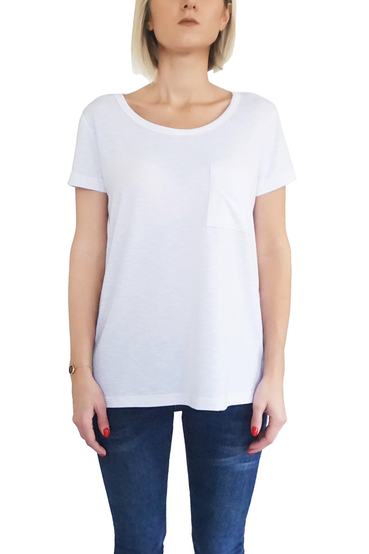 MOF Kadın Beyaz T-Shirt GSYT-B 1