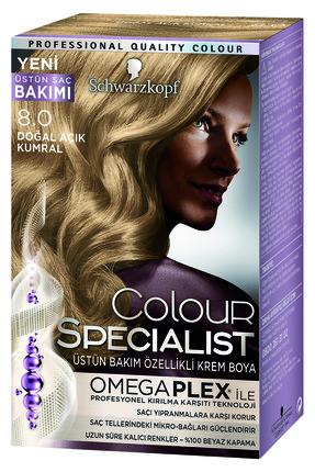 Color Specialist Doğal Açık Kumral 8-0