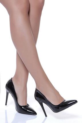 Shoes Time Siyah Kadın Topuklu Ayakkabı 18Y 708