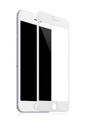 Bufalo iPhone 7/8 Kavisli 5D Cam Ekran Koruyucu Beyaz