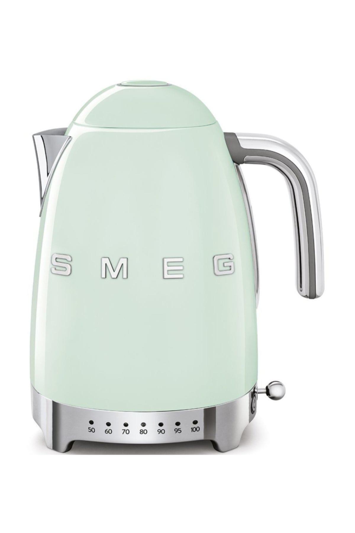 SMEG KLF04PGEU  Pastel Yeşil Su Isıtıcı - Electronic Kettle 1