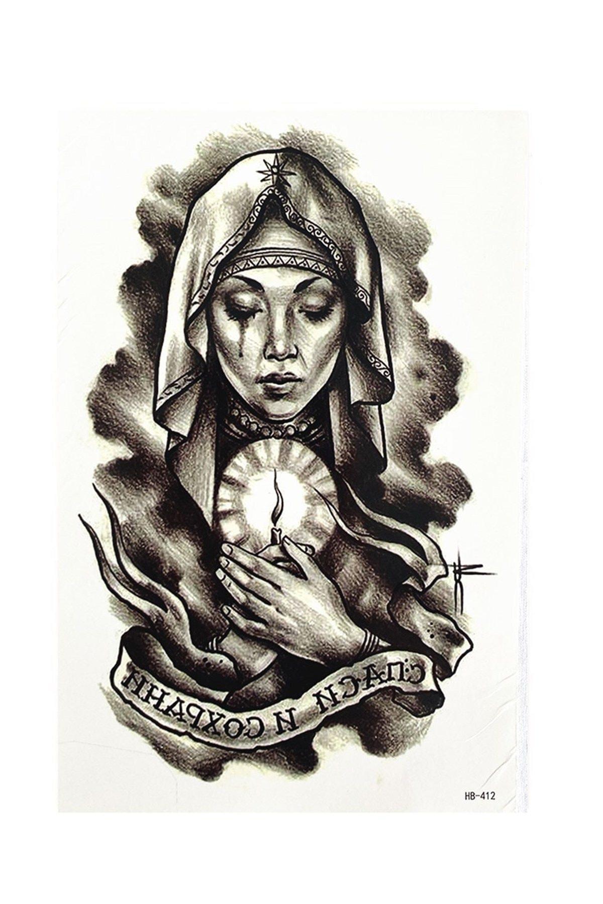 TAKIŞTIR Geçici Kadın Dövme Tattoo 2