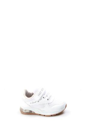 FAST STEP Beyaz Bebek Ayakkabısı