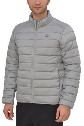 Kinetix Unique Coat Gri Siyah Erkek Mont 100340396