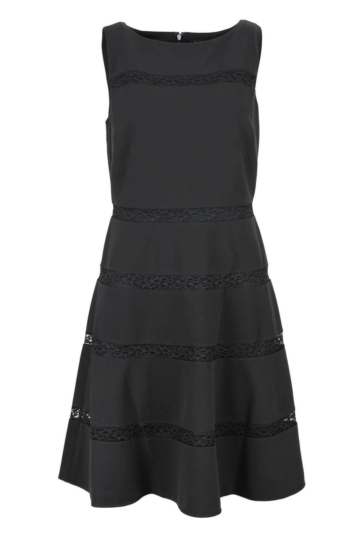 Polo Ralph Lauren Kadın Siyah Elbise 1086785 1