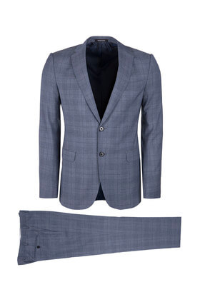 Emporio Armani Gri Erkek Takım Elbise W1Vmet W1653