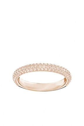 Swarovski Kadın Yüzük Stone:Ring Mn Silk/Ros 60 5412011