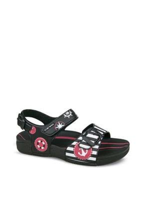 Ceyo Siyah Çocuk Sandalet 01940