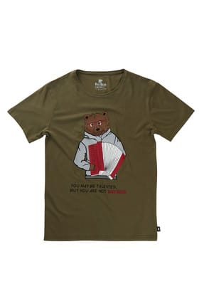 Bad Bear BUSKER TEE KHAKI