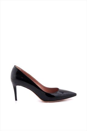 Tanca Kadın Hakiki Deri Siyah Topuklu Ayakkabı 152TCK557 21694