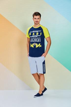 Fenerbahçe Erkek Bermuda Takım Lacivert 7554