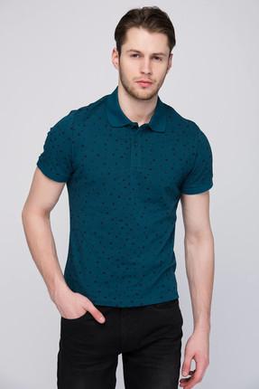 Lee Cooper Erkek Stars Polo Yaka Baskılı Pike T-Shirt 182 LCM 242123