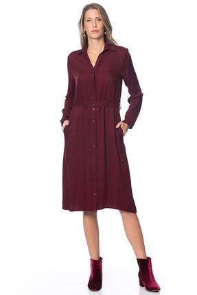Pitti Kadın Vişne Elbise 50992
