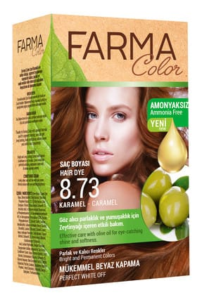Farmasi Farmacolor Saç Boyası 8.73 Karamel 8690131113179