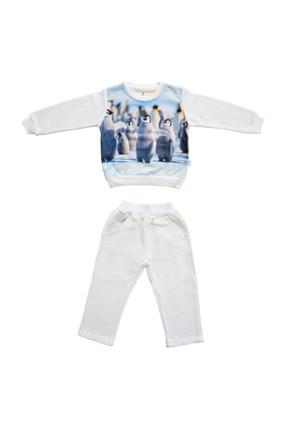 Petitsomething Penguen Pijama Takımı