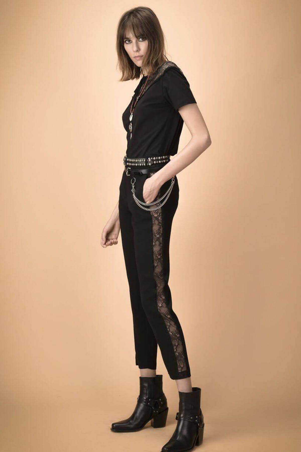 PİNKO Kadın Siyah Pantolon 338971 2