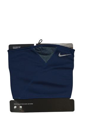 Nike Unisex Boyunluk - Therma Sphere Adjustable Neck Warmer Midnight Navy/Volt - N.WA.63.467.OS