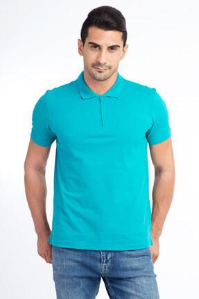 Kiğılı Erkek Acık Yesıl Polo Yaka T-Shirt - 47469
