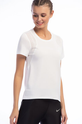 Nike Kadın T-shirt - Run Top Ss - 890353-100