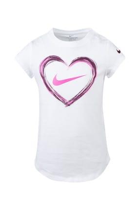 Nike Kids Beyaz Kız Çocuk T-Shirt