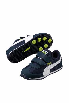 Puma Kids Puma Whirlwind Mesh V Ps Koyu Lacivert BEYAZ Unisex Çocuk Sneaker 100385509