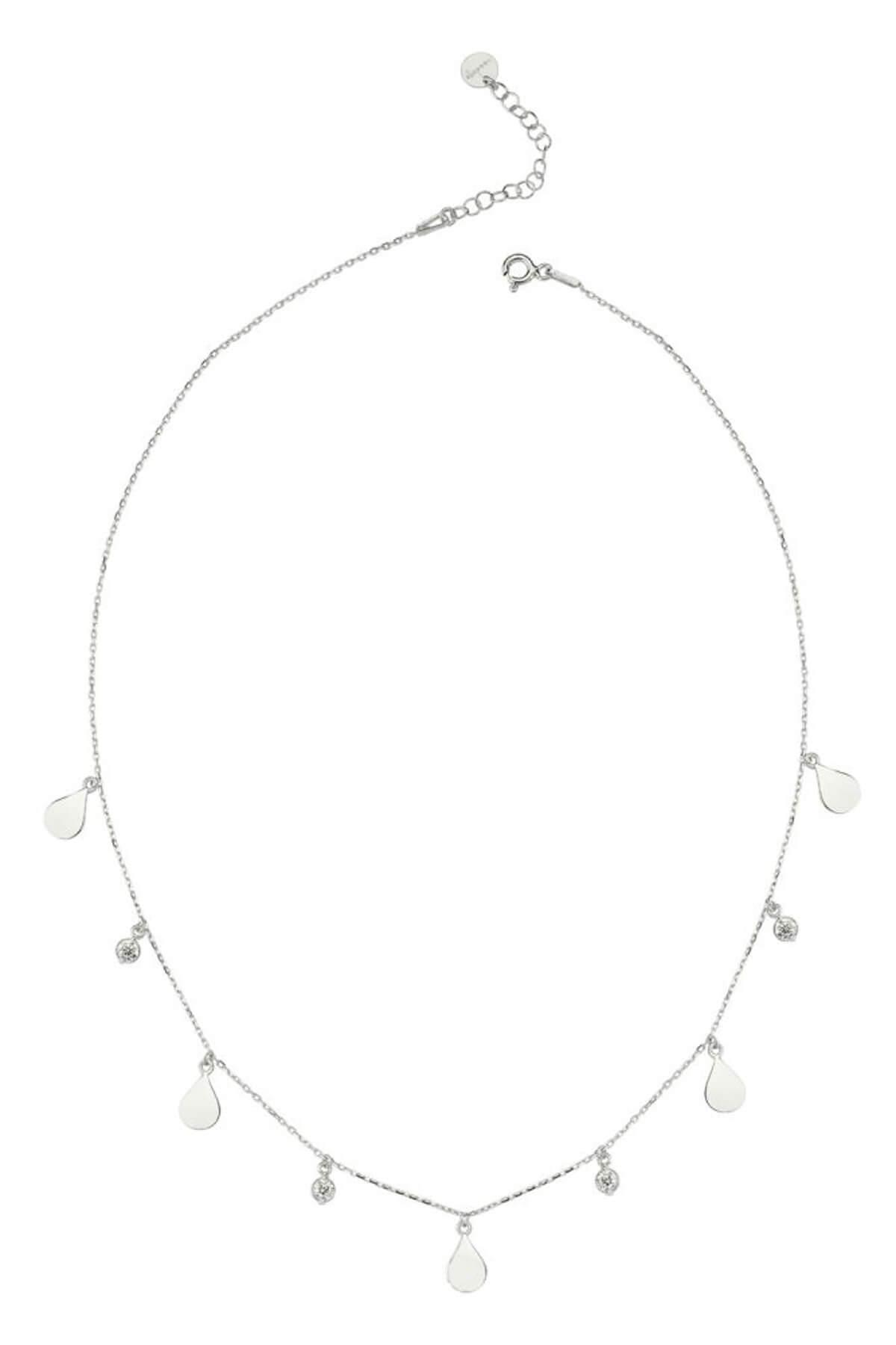 BENDİS Kadın Gümüş Mini Damla Kolye C531 1
