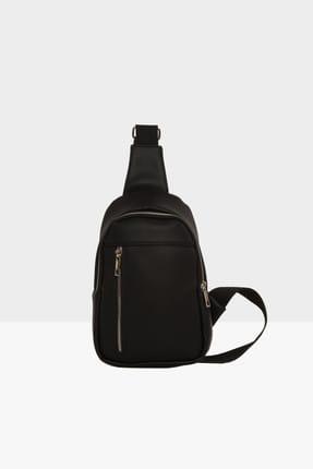 Bagmori Unisex Siyah  Çapraz Mini Çanta M000002808
