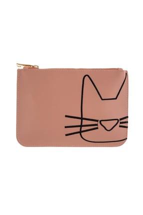 Coquet Accessories Kadın Cat Clutch 18YG3U13M017