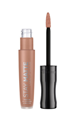 RIMMEL LONDON Ruj - Stay Matte Liquid Lipstick 710 Latte To Go 3614224429331