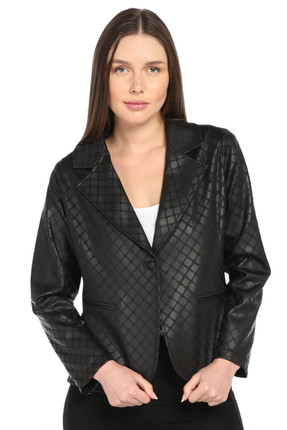 Lir Kadın Siyah Ceket 5026