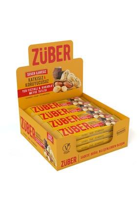 Züber Yer Fıstıklı ve Kakaolu Meyve Tatlısı - 40 gr x 12 Adet