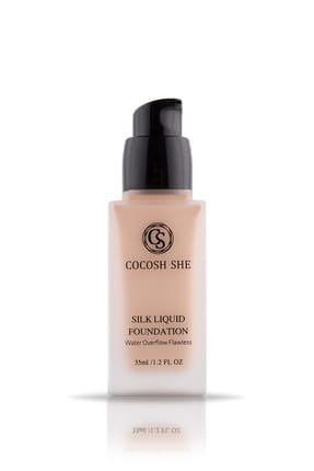 Cocosh She Fondöten - Waterproof Silk Liquid Foundation 01 Porcelain 8681569722521