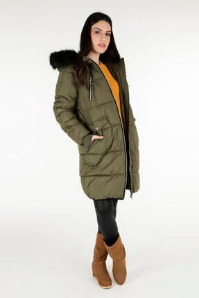 Vero Moda Kadın Haki Mont 10201709