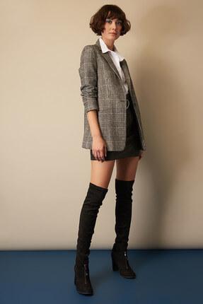 Elle Shoes Siyah Kadın Çizme