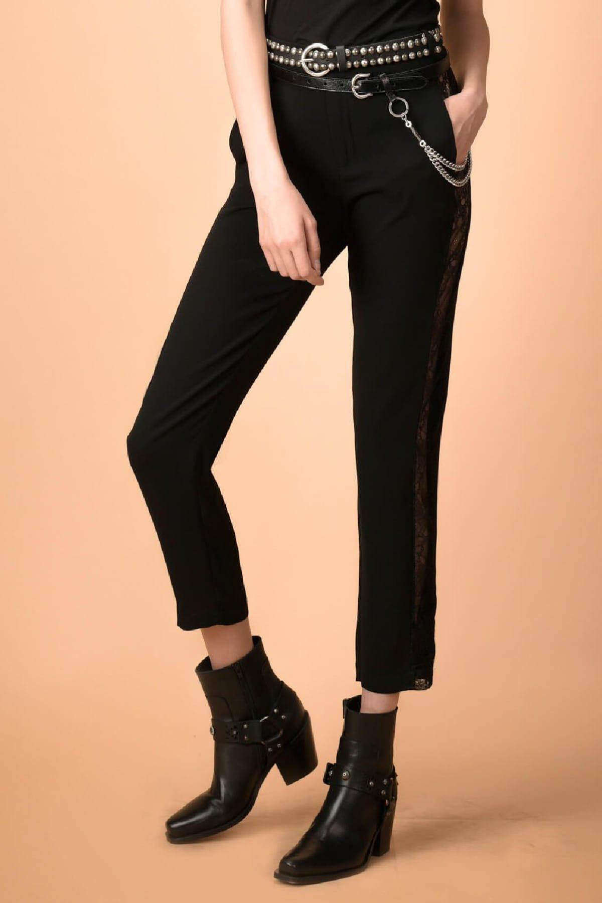 PİNKO Kadın Siyah Pantolon 338971 1