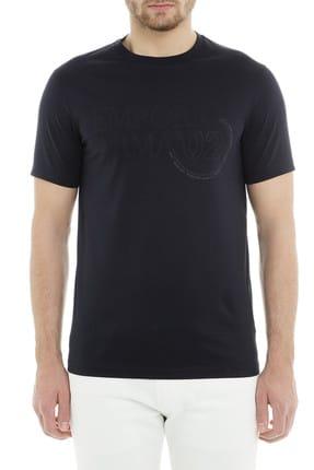 Emporio Armani Erkek Lacivert T-Shirt 3G1TL1 1JTUZ F971