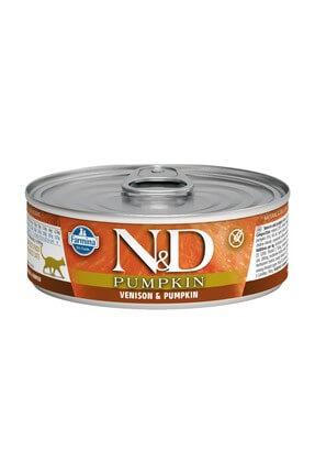 N&D Balkabağı & Geyik Kedi Konservesi 80 gr