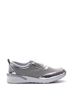 Bulldozer Gümüş Kadın Ayakkabı BUL-18121
