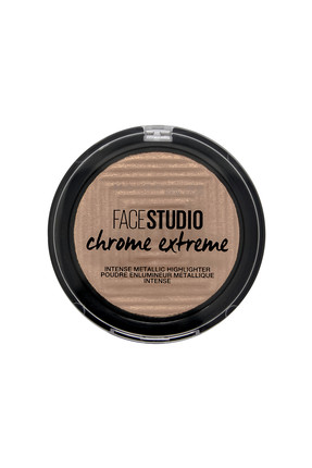 Maybelline New York Aydınlatıcı - Face Studio Chrome Extreme Highlighter 300 Sandstone 3600531524180
