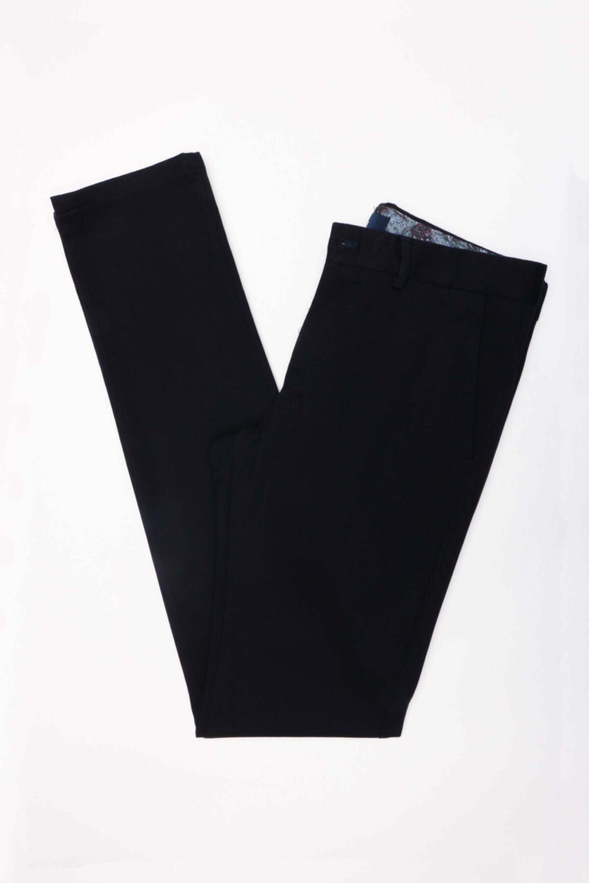 Jakamen Erkek Lacivert Ekstra Slim  Pantolon 1