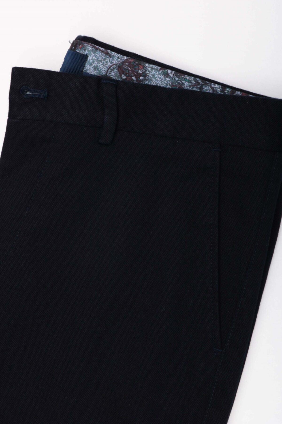 Jakamen Erkek Lacivert Ekstra Slim  Pantolon 2