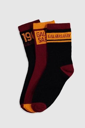 LC Waikiki Galatasaray Erkek Çocuk Karışık Renk İpl K00 Çorap
