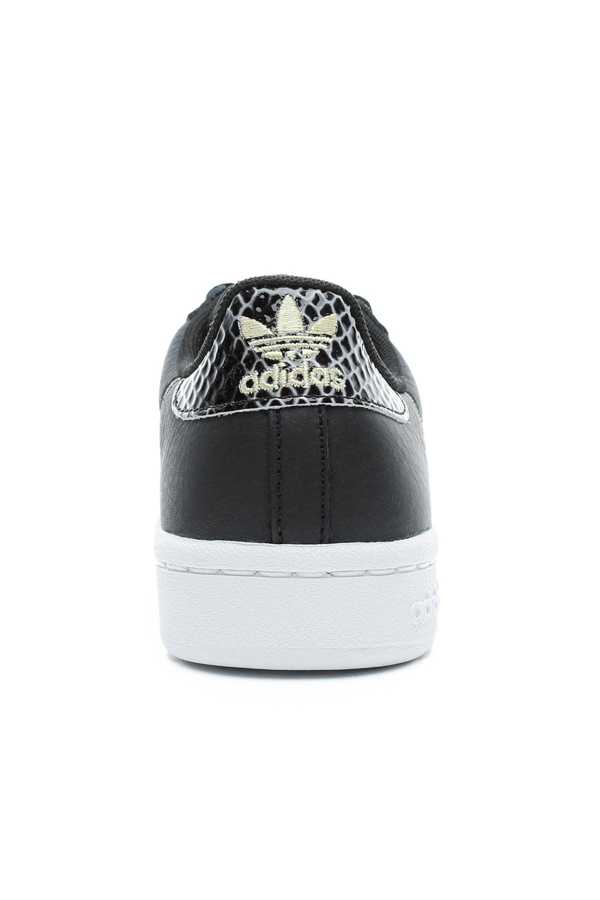 adidas Continental 80 Kadın Siyah Spor Ayakkabı 2