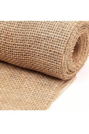 Ekodoğa Kanaviçe Kumaş 1x4 M Jüt Kumaş Telis Bezi Çuval Bezi Telis Bezi Kanaviçe Kumaş Çuval Kumaşı