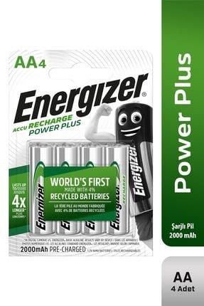 Energizer Power Plus Şarj Edilebilir 2000 Mah Aa Kalem Pil 4'lü