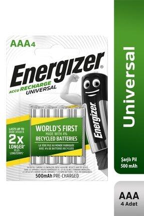 Energizer Universal Şarj Edilebilir 500 Mah Aaa Kalem Pil 4'lü